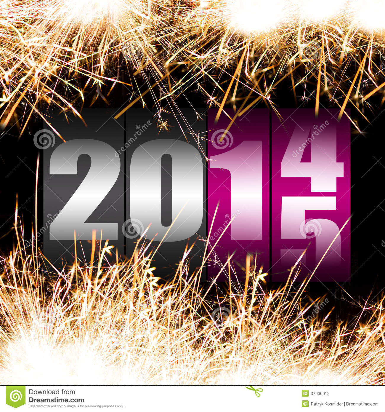 Stock Photography: Happy New Year 2015