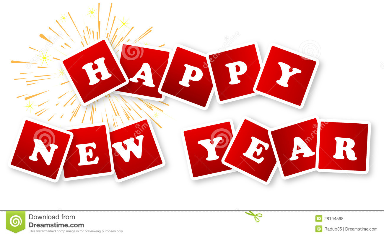 happy new year stock illustration illustration of bright 28194598