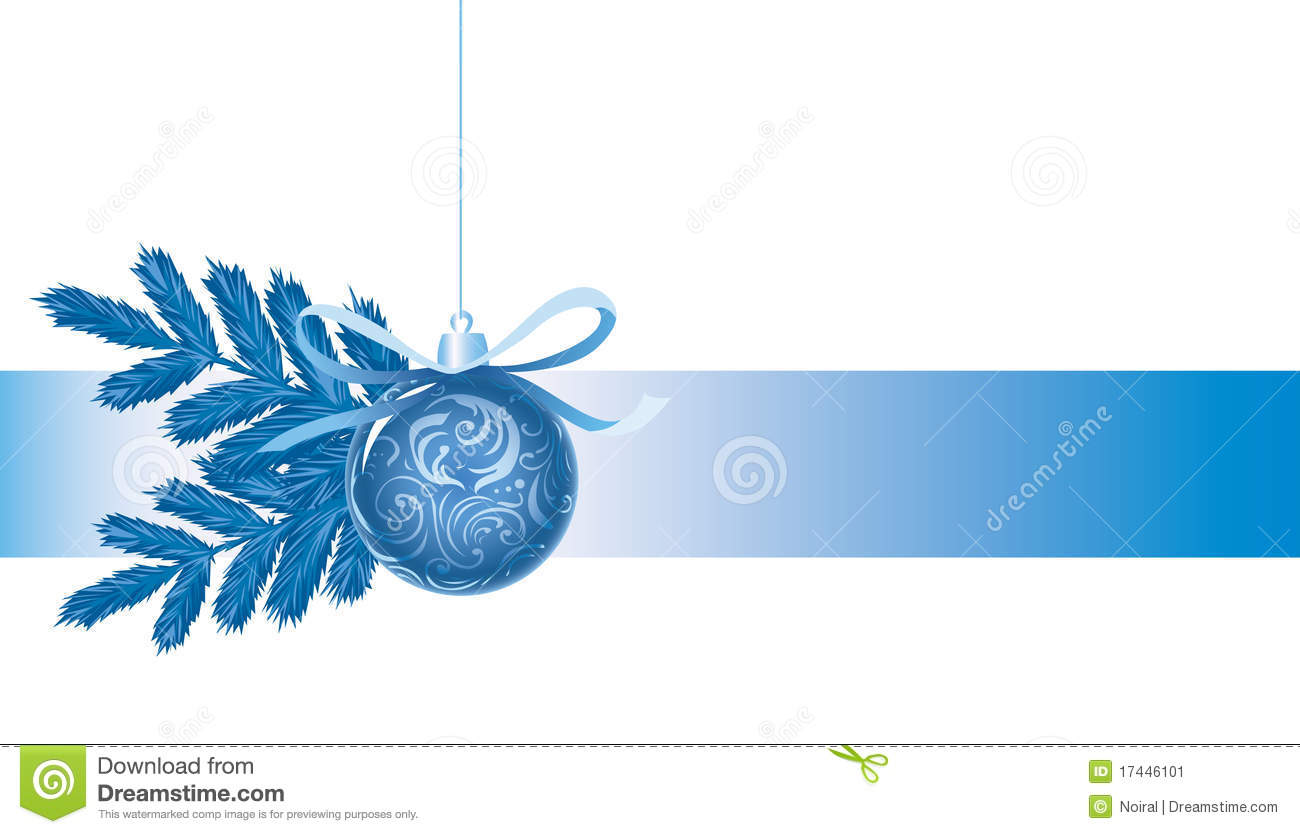 happy new year background with blue ball