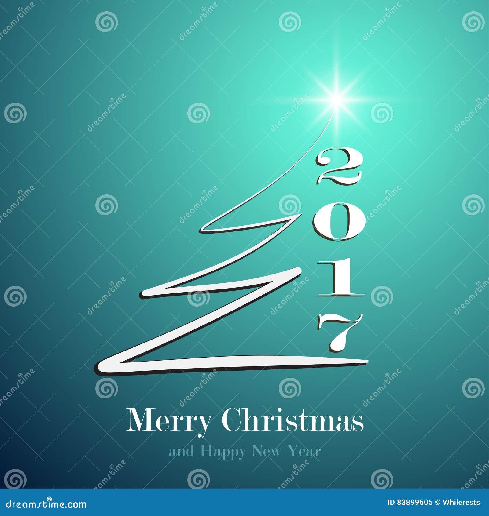 Happy New Year 2017 Background. Calendar Decoration ...
