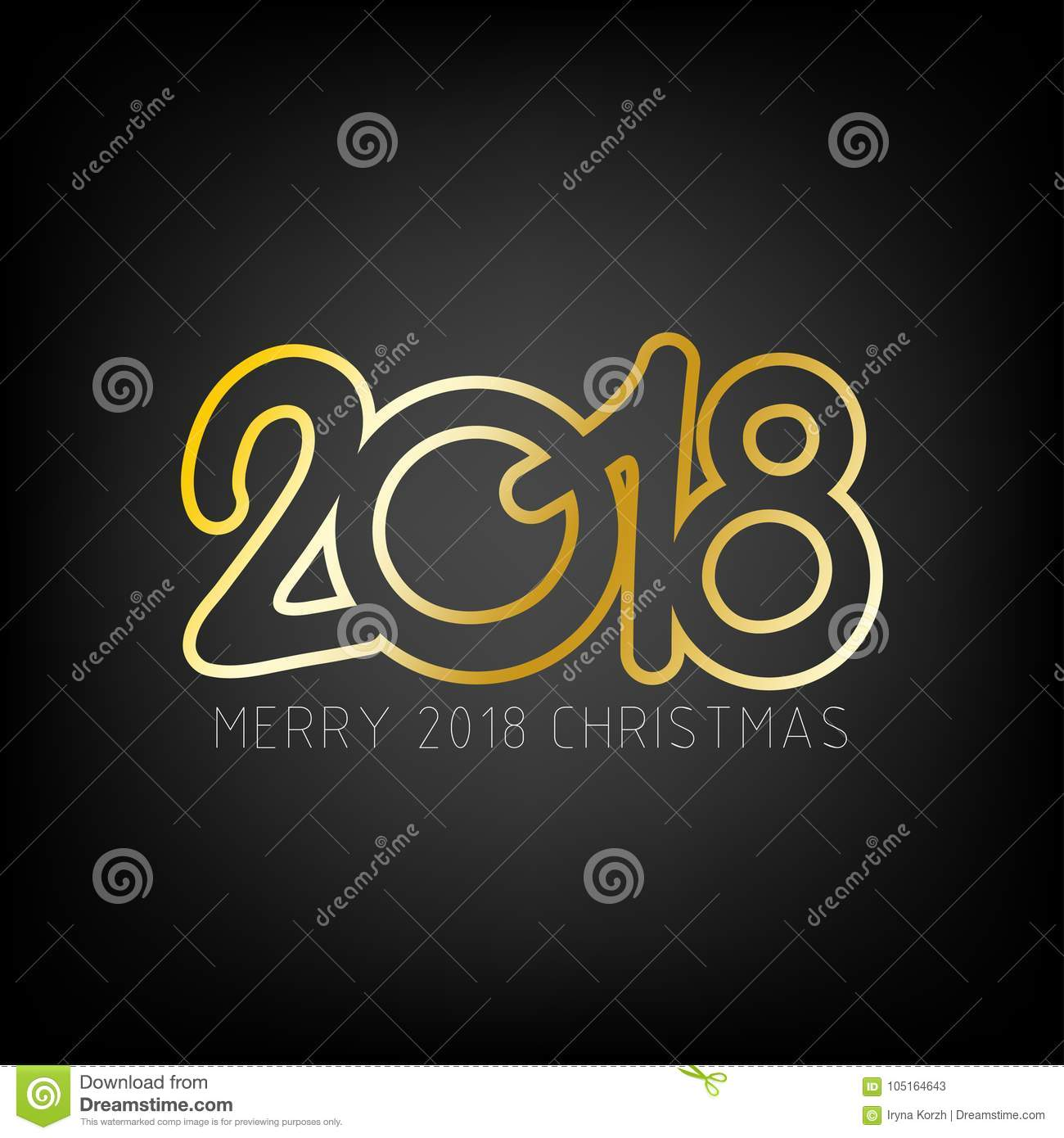 happy new year 2018 background merry christmas 2018 theme