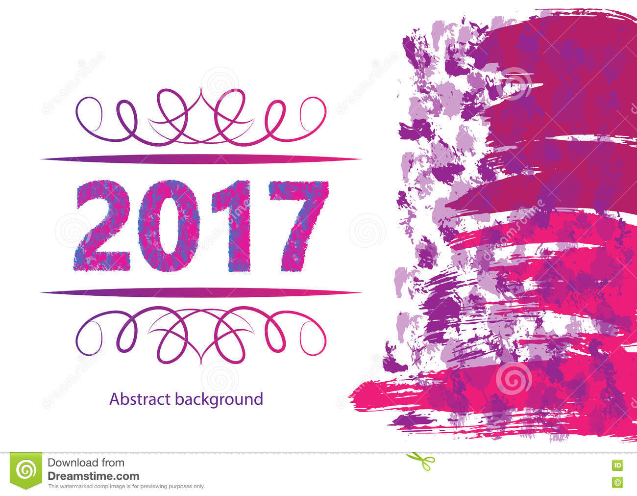 2017 happy new year background for your flyers and greetings card ideal to use for