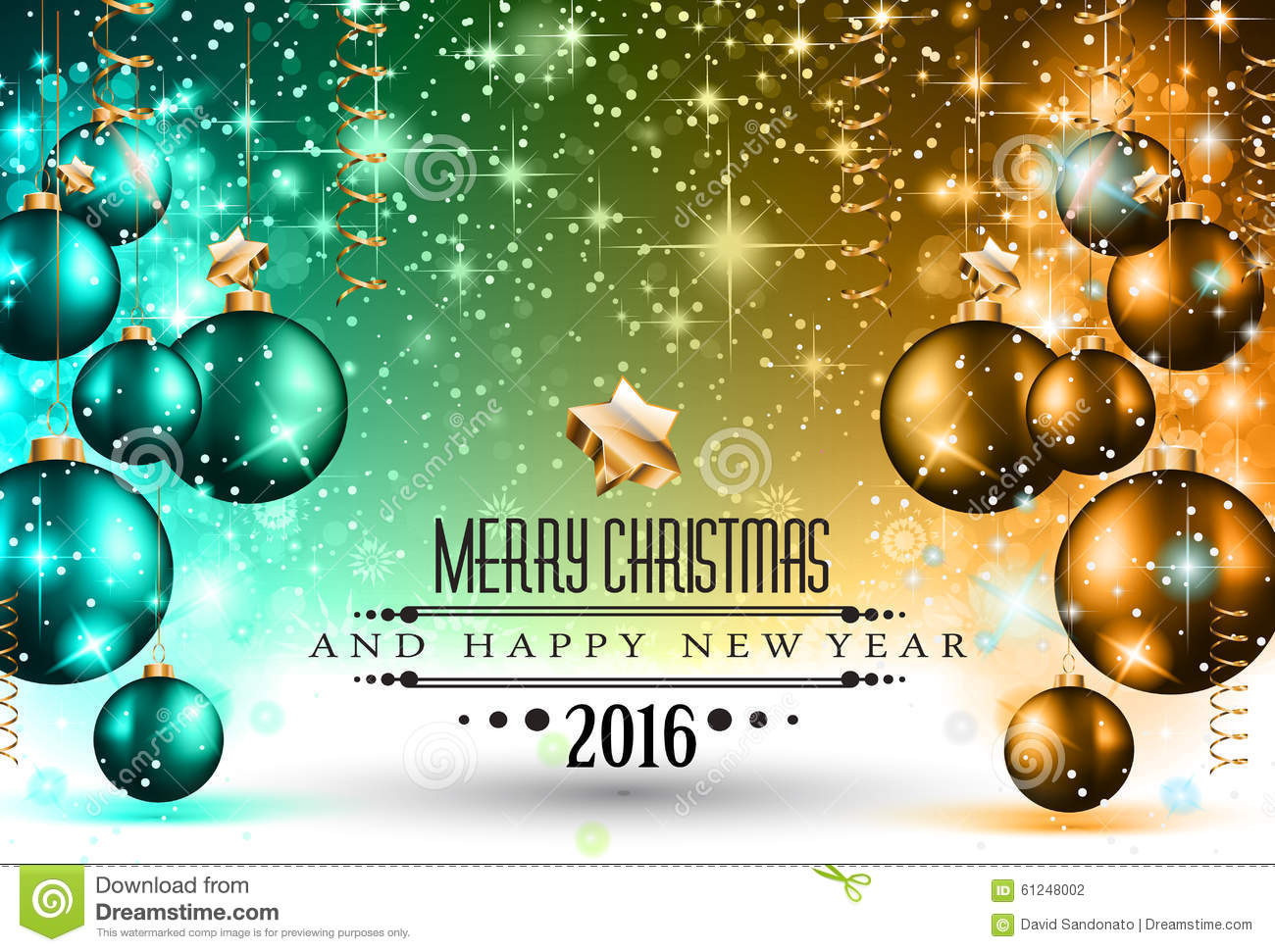 2016 happy new year background for your flyers stock vector