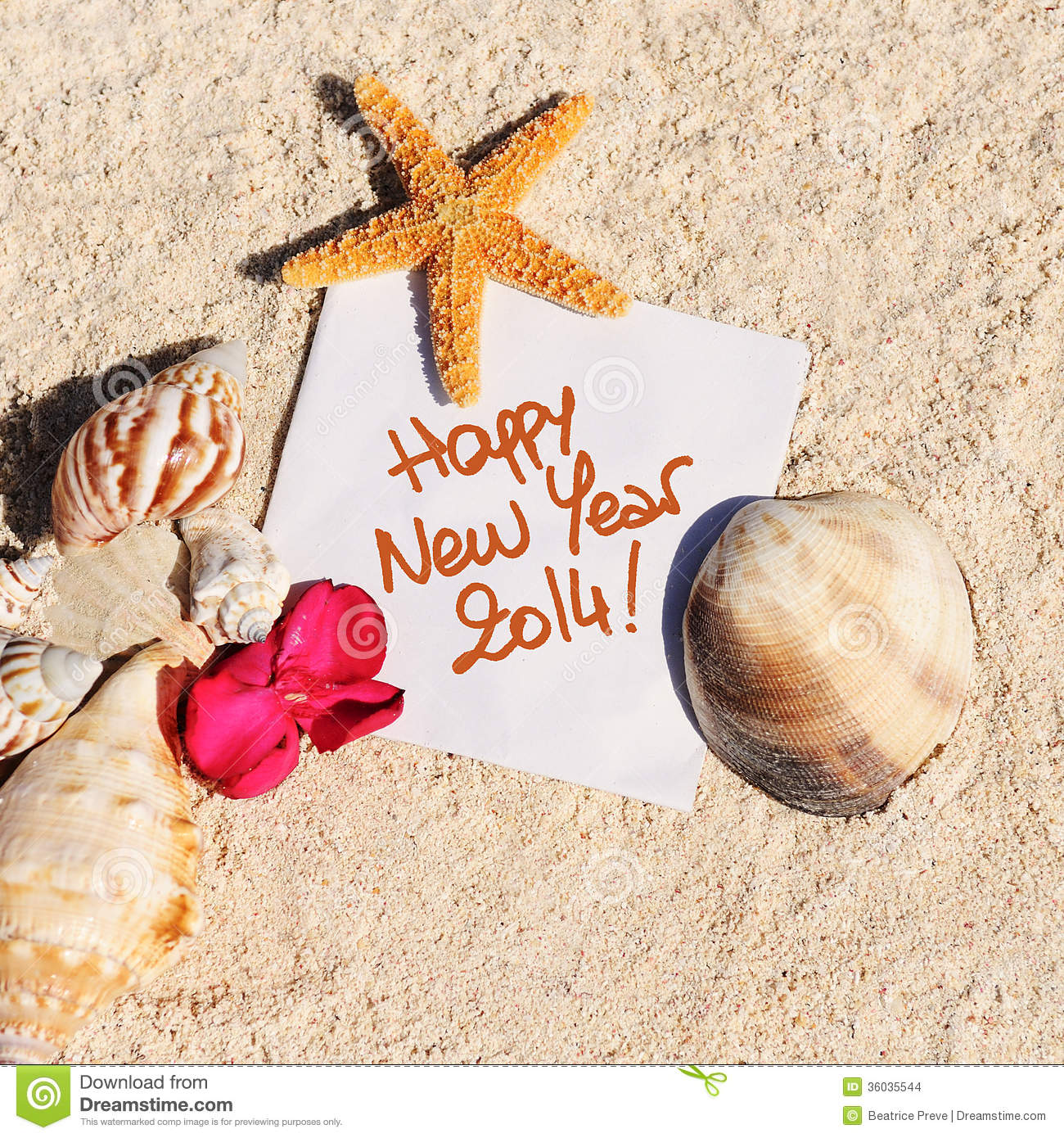 Happy New Year 2014 Stock Images - Image: 36035544