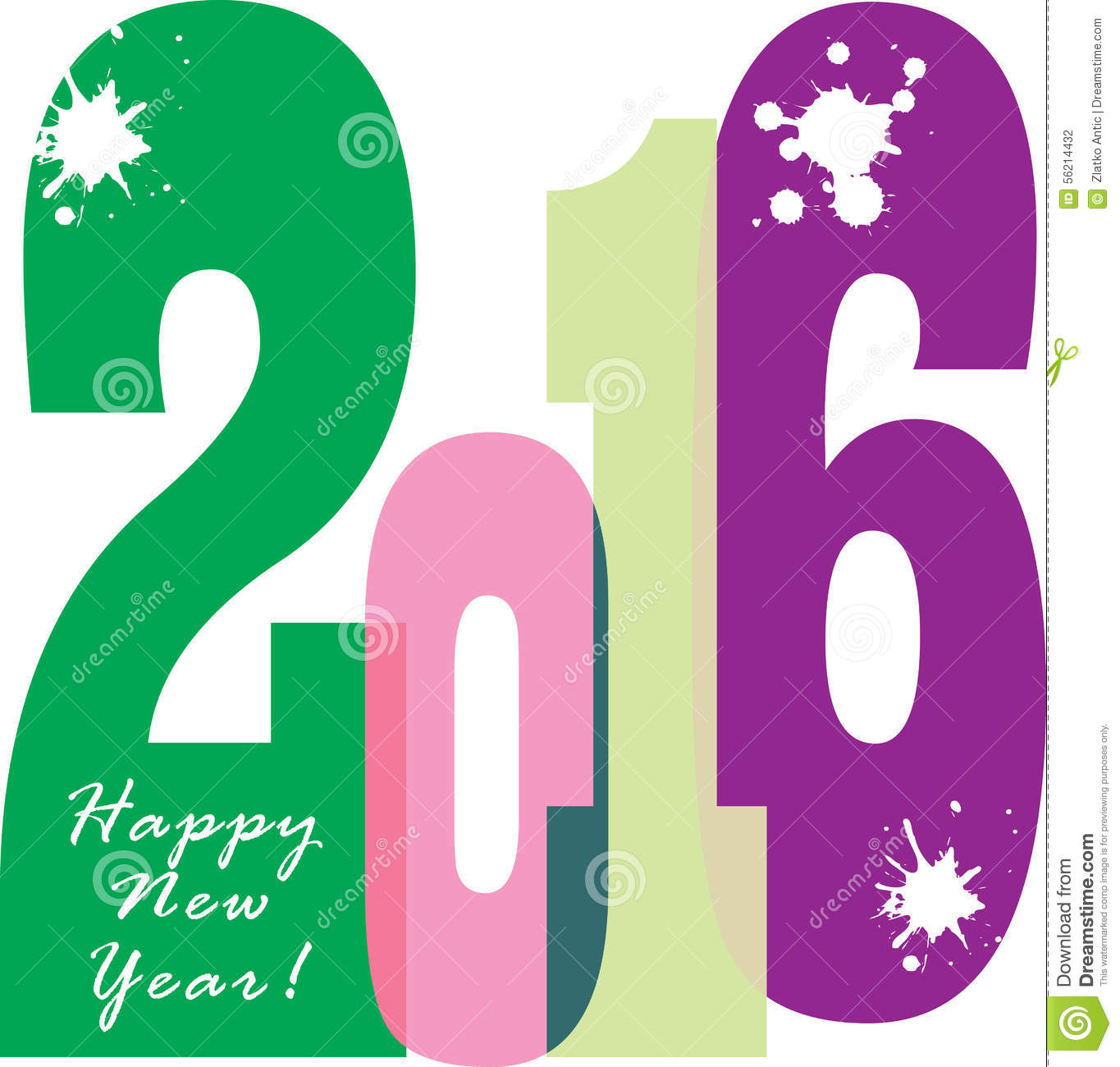 Happy New Year 2016 Brochure Banner