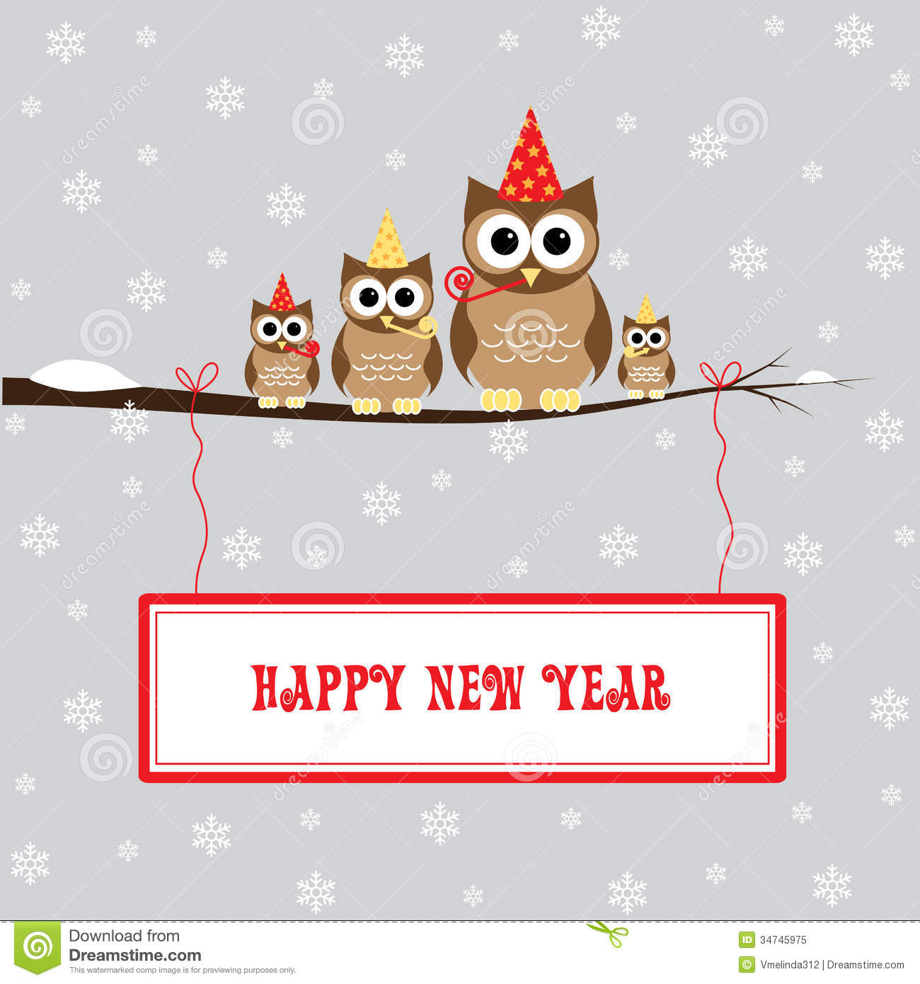 Happy New Year Royalty Free Stock Photo - Image: 34745975
