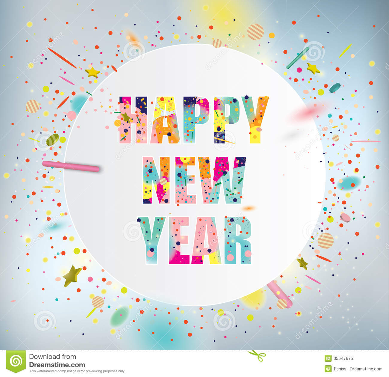 Happy New Year Royalty Free Stock Photo Image 35547675