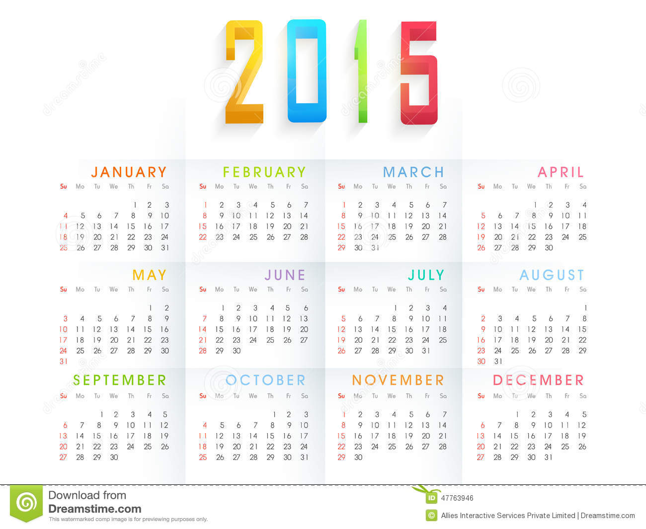 Happy New Year Calendar : Happy new year celebration with yearly calendar
