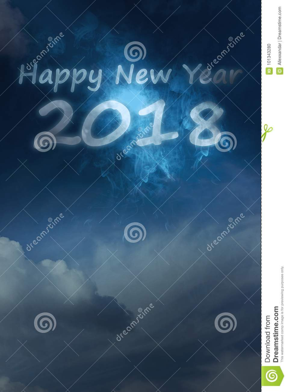 2018 happy new year cloudscape happy new year theme