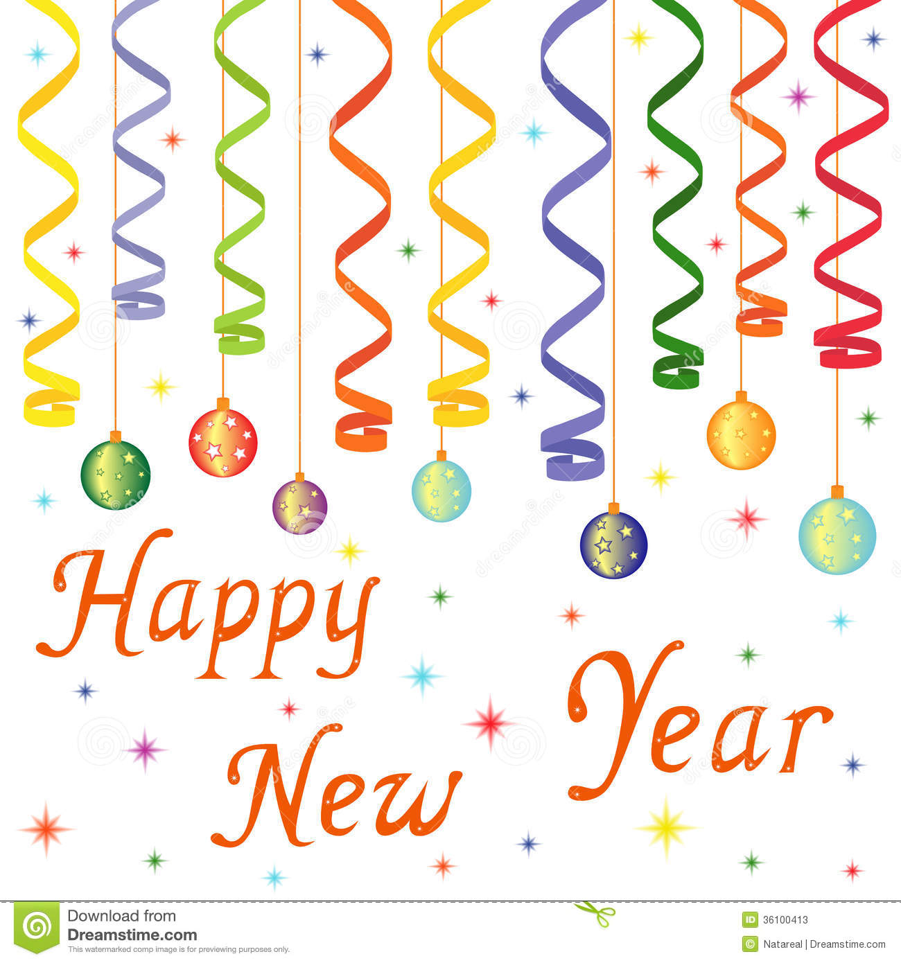 Drawing Lines Year : Happy new year composition stock photos image