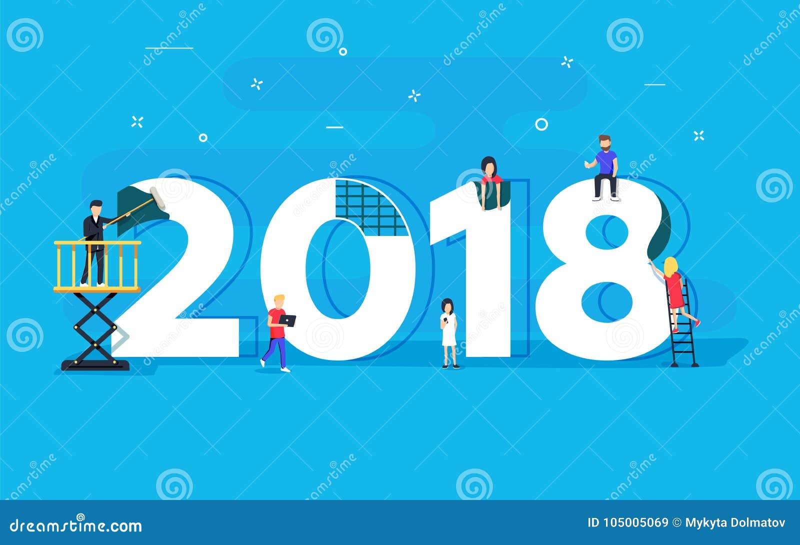 Happy New Year Flat Design 52
