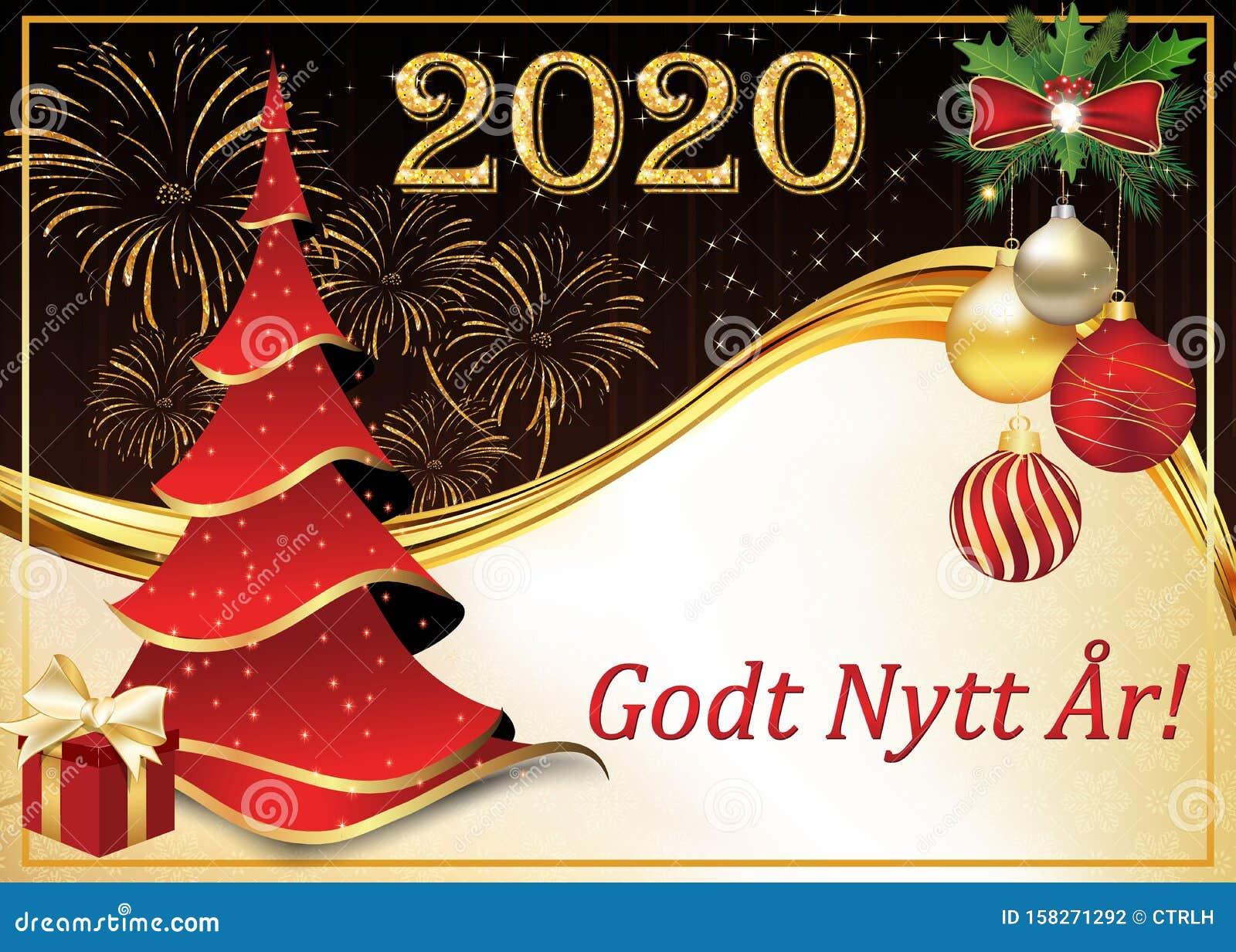 Happy New Year - Corporate Greeting Card In Norwegian ...