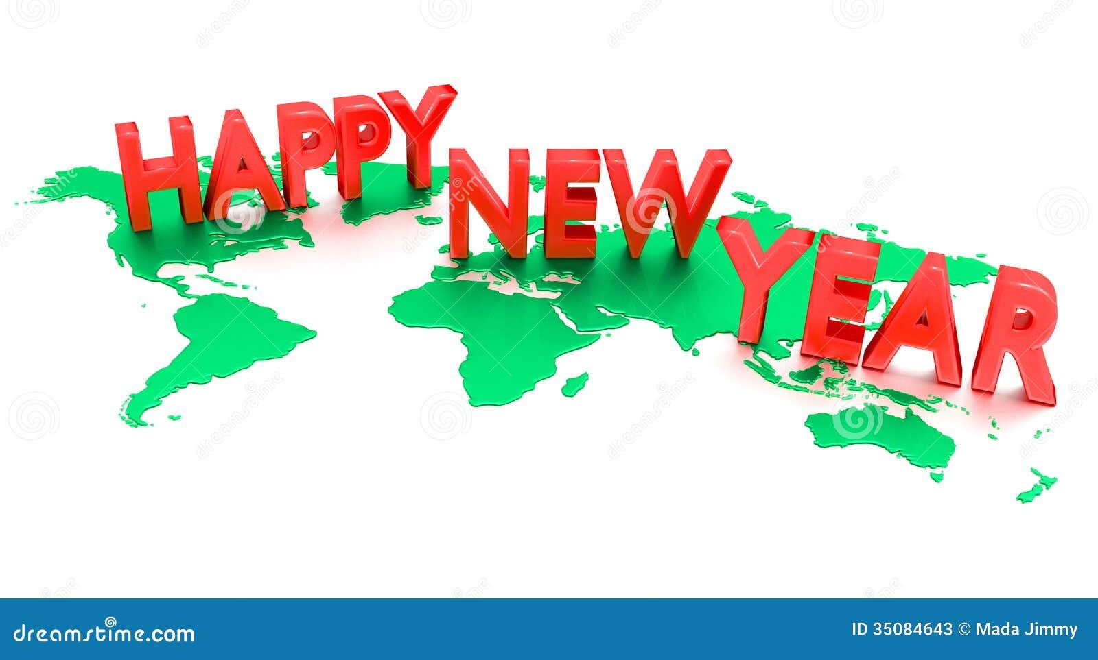 Wallpaper Editorial Calendar : Happy new year stock illustration image of wallpaper
