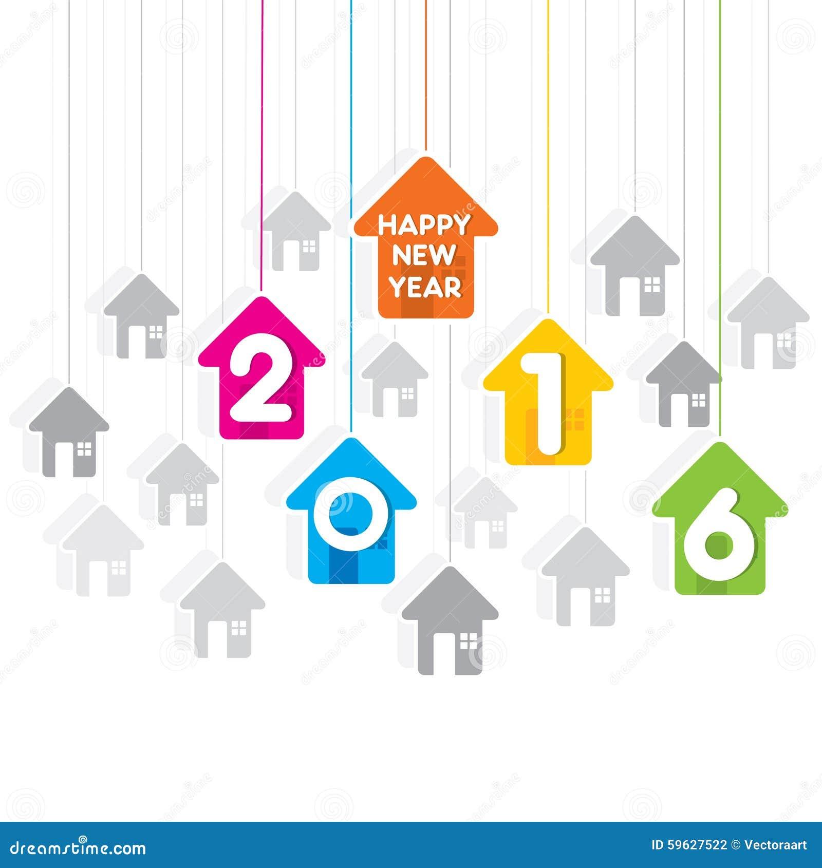 Happy new year 2016 design stock vector illustration of happy new year 2016 design m4hsunfo