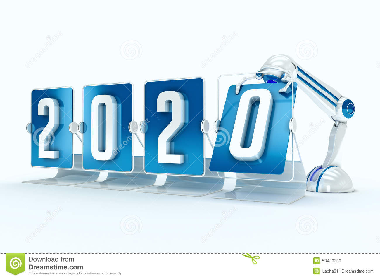 Year 2020 Technologies Happy New Year 2020 St...
