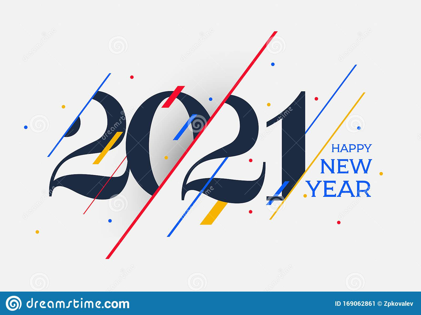 2021 Happy New Year Design Template. Logo Design For ...