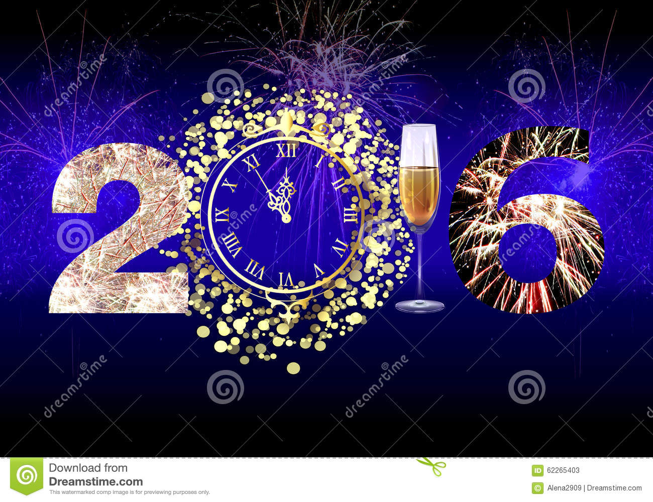 happy new year 2016 fireworks