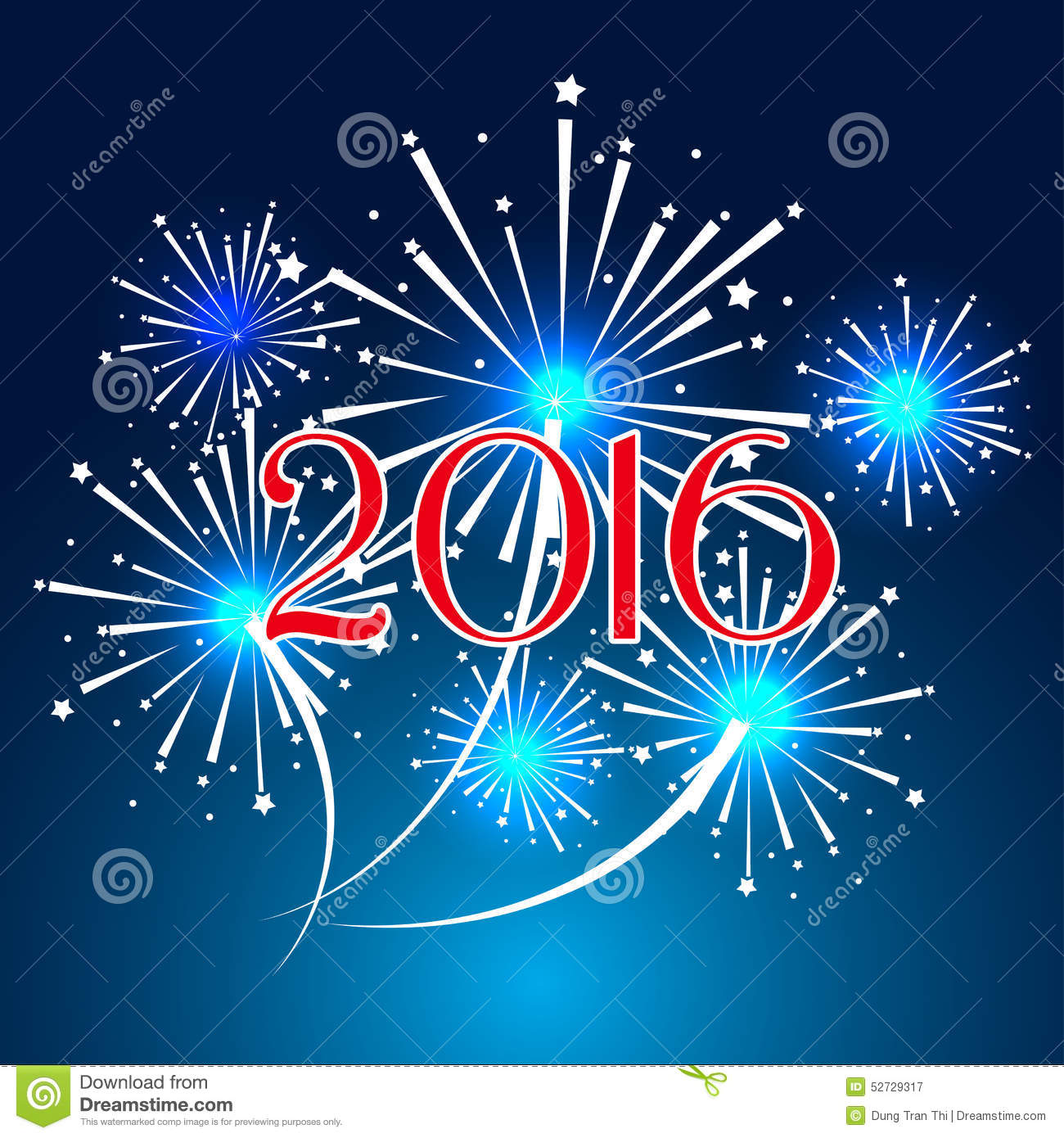 Happy new year 2016 with fireworks holiday background - Frases ano nuevo ...
