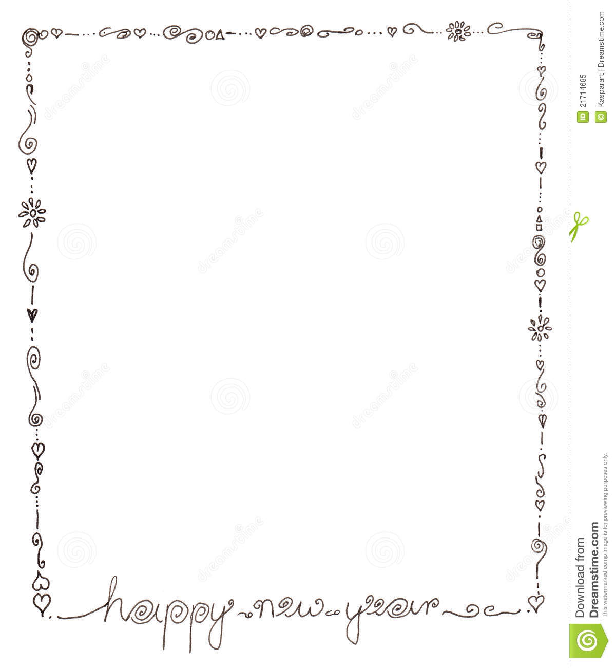 Happy New Year Frame Royalty Free Stock Photo - Image ...