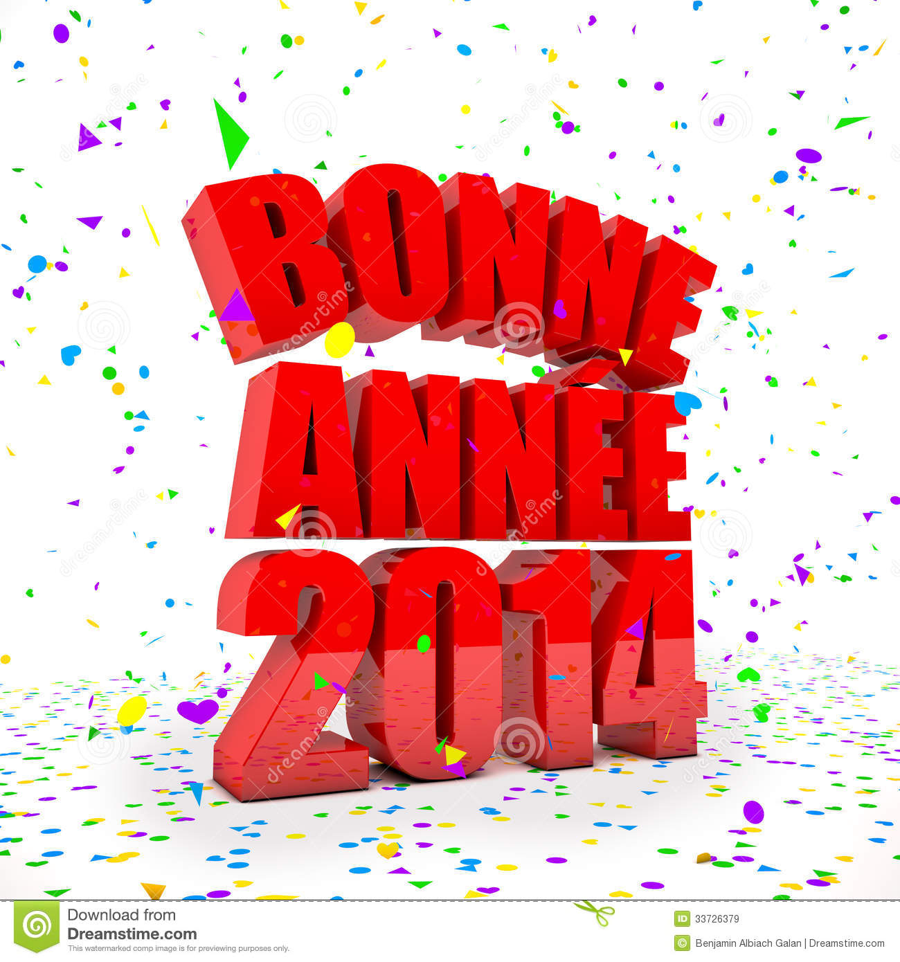Happy New year 2014 in french languages
