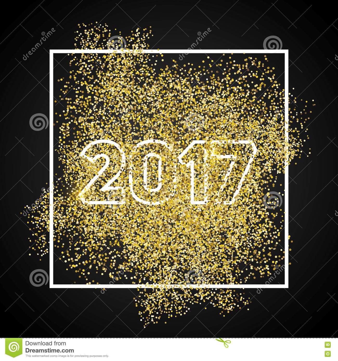 happy new year 2017 gold glitter new year gold background for flyer banner web header poster sign abstract background for text quote