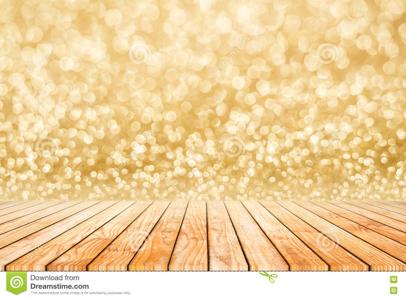 happy new year golden blur bokeh abstract background o