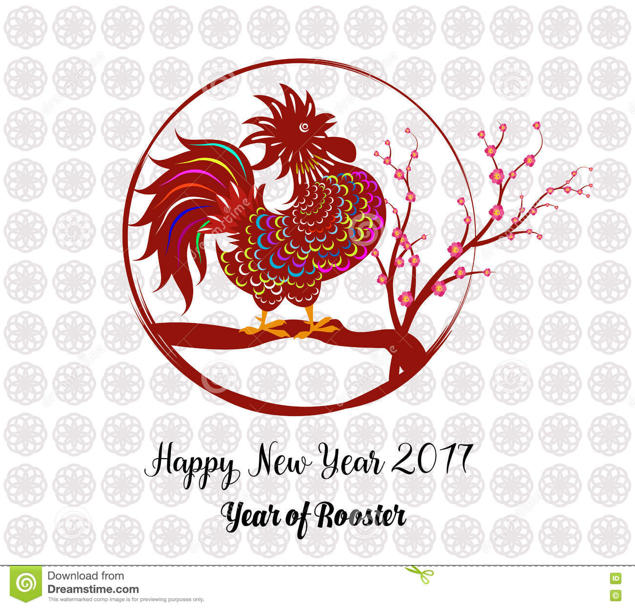 2017 happy new year greeting card celebration chinese new year of download 2017 happy new year greeting card celebration chinese new year of the rooster m4hsunfo