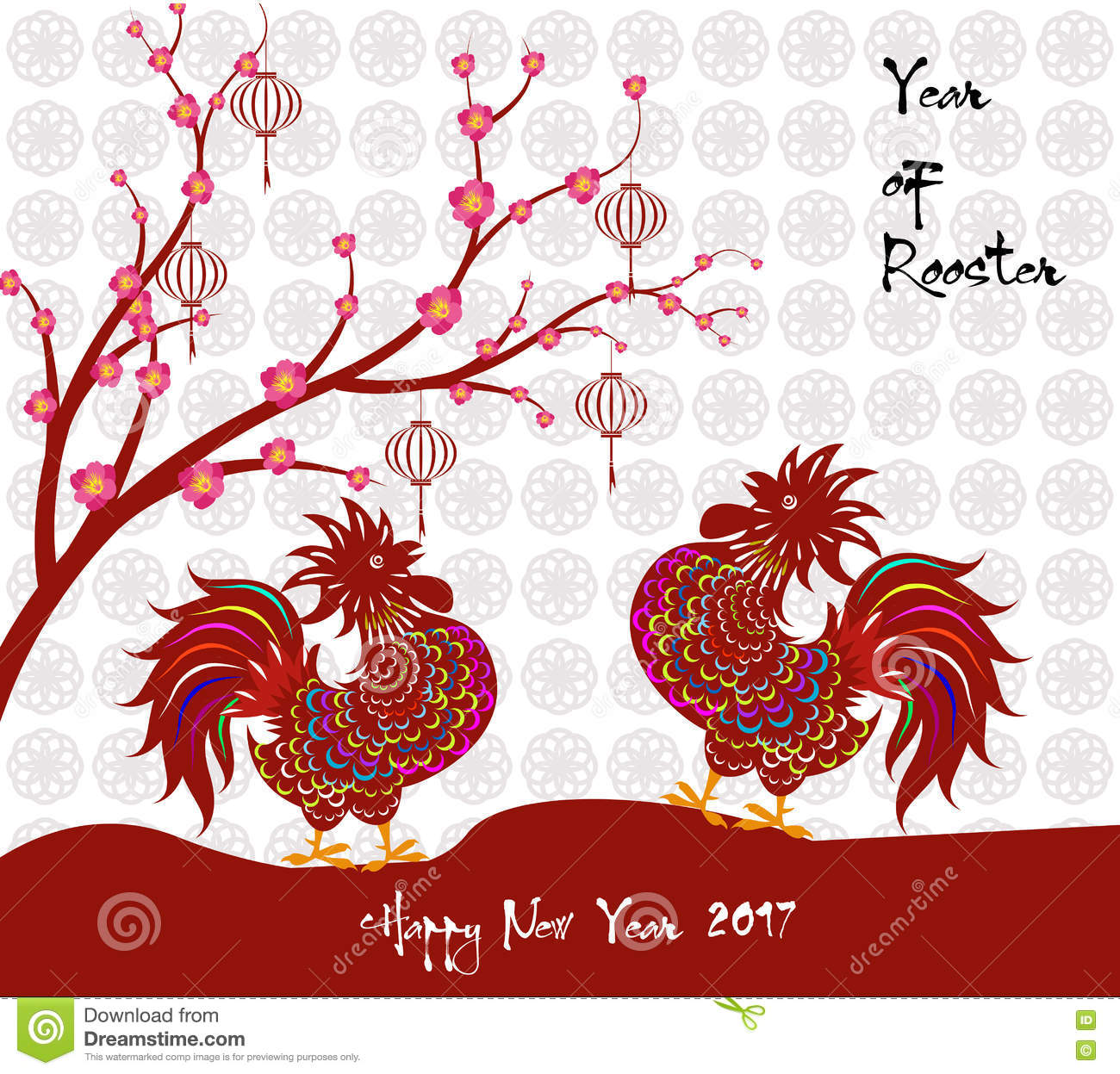 Chinese New Year 2017 Lunar