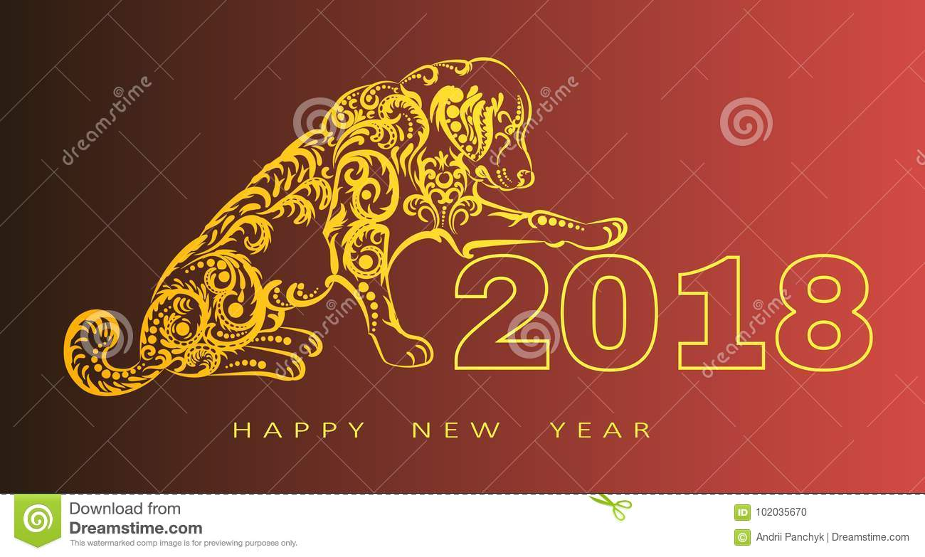 2018 happy new year greeting card year of the dog chinese new year download 2018 happy new year greeting card year of the dog chinese new year m4hsunfo