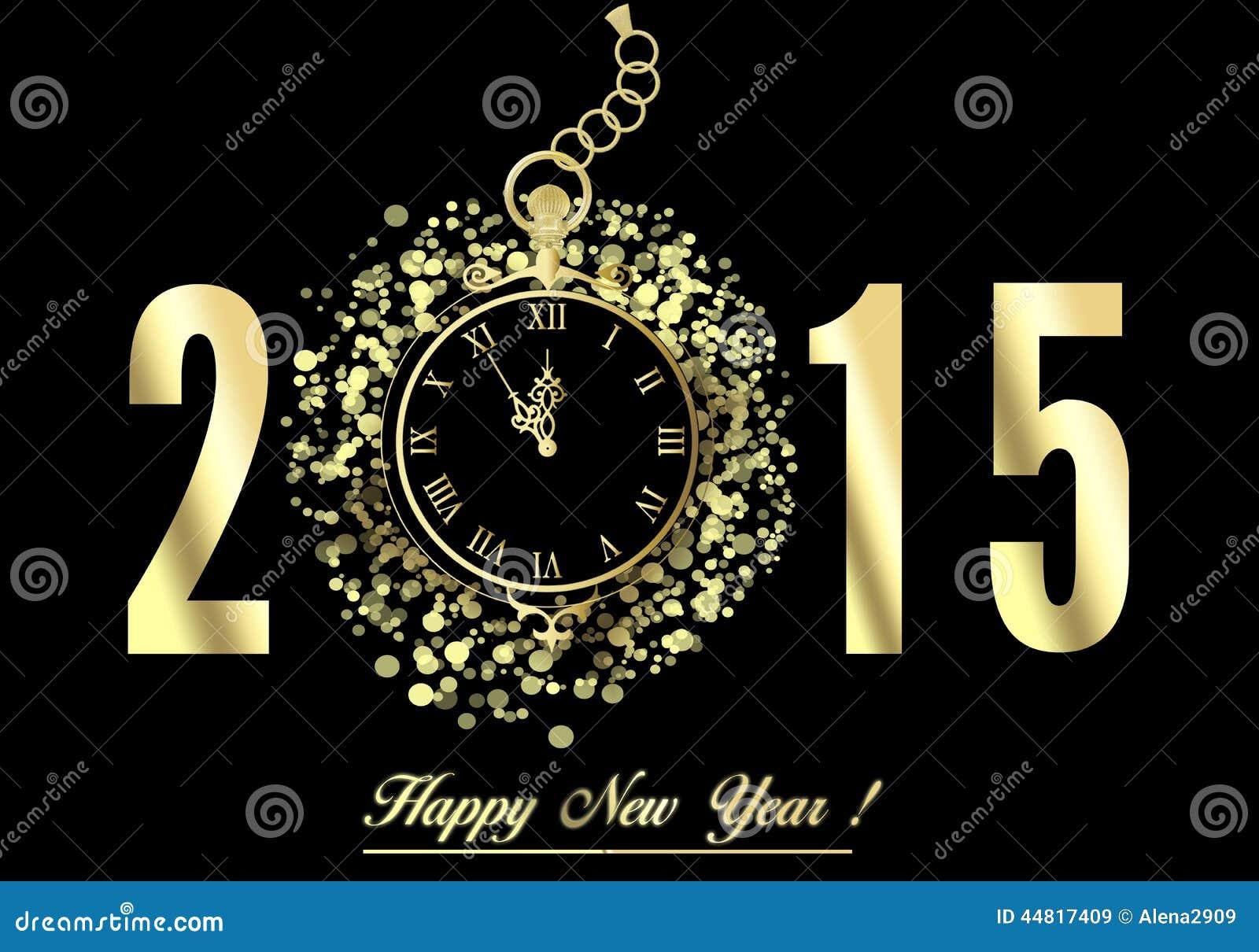 Happy New Year 2015 Stock Illustration Illustration Of Banner