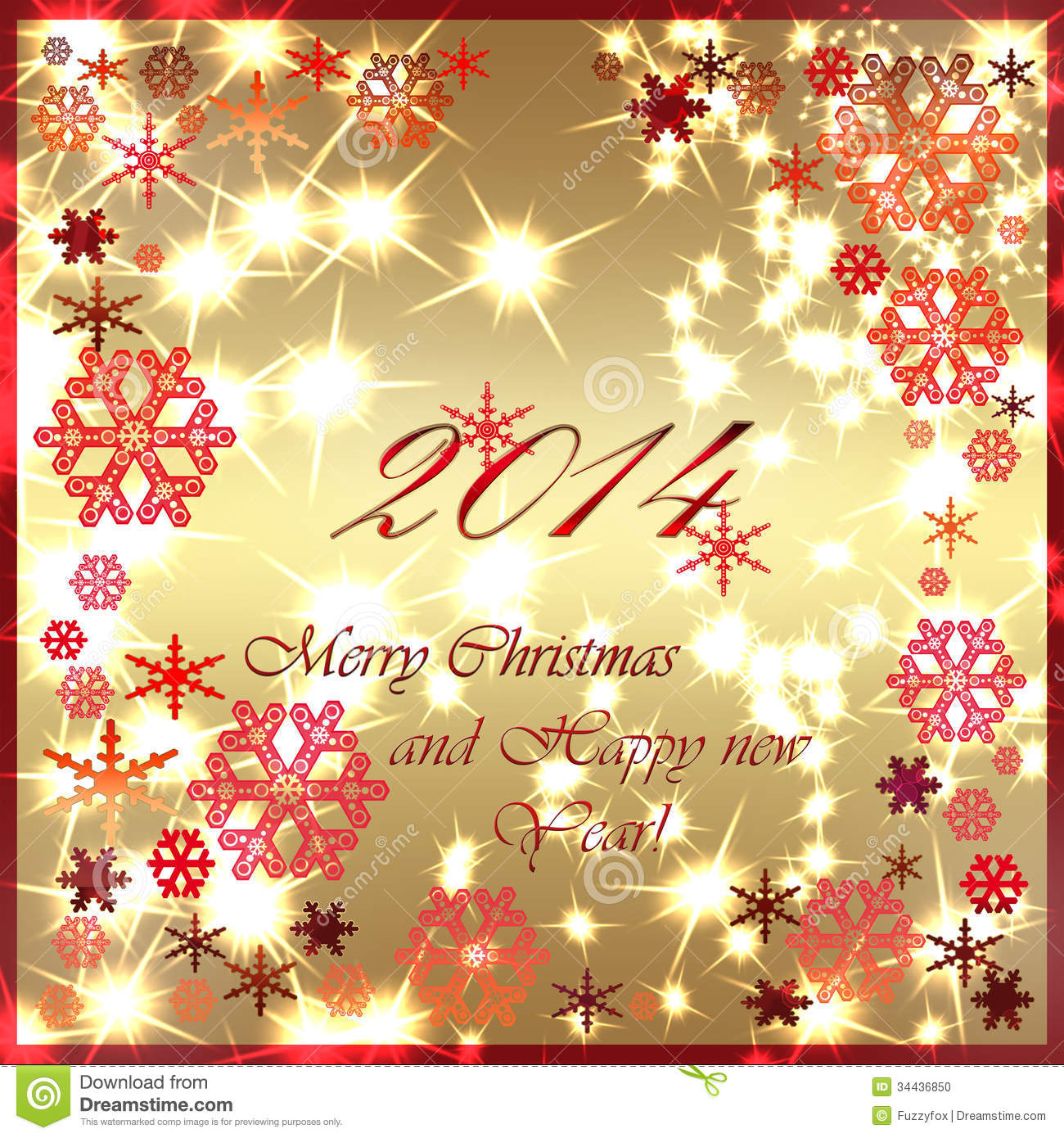 Happy New Year Greeting Card Stock Illustration ...