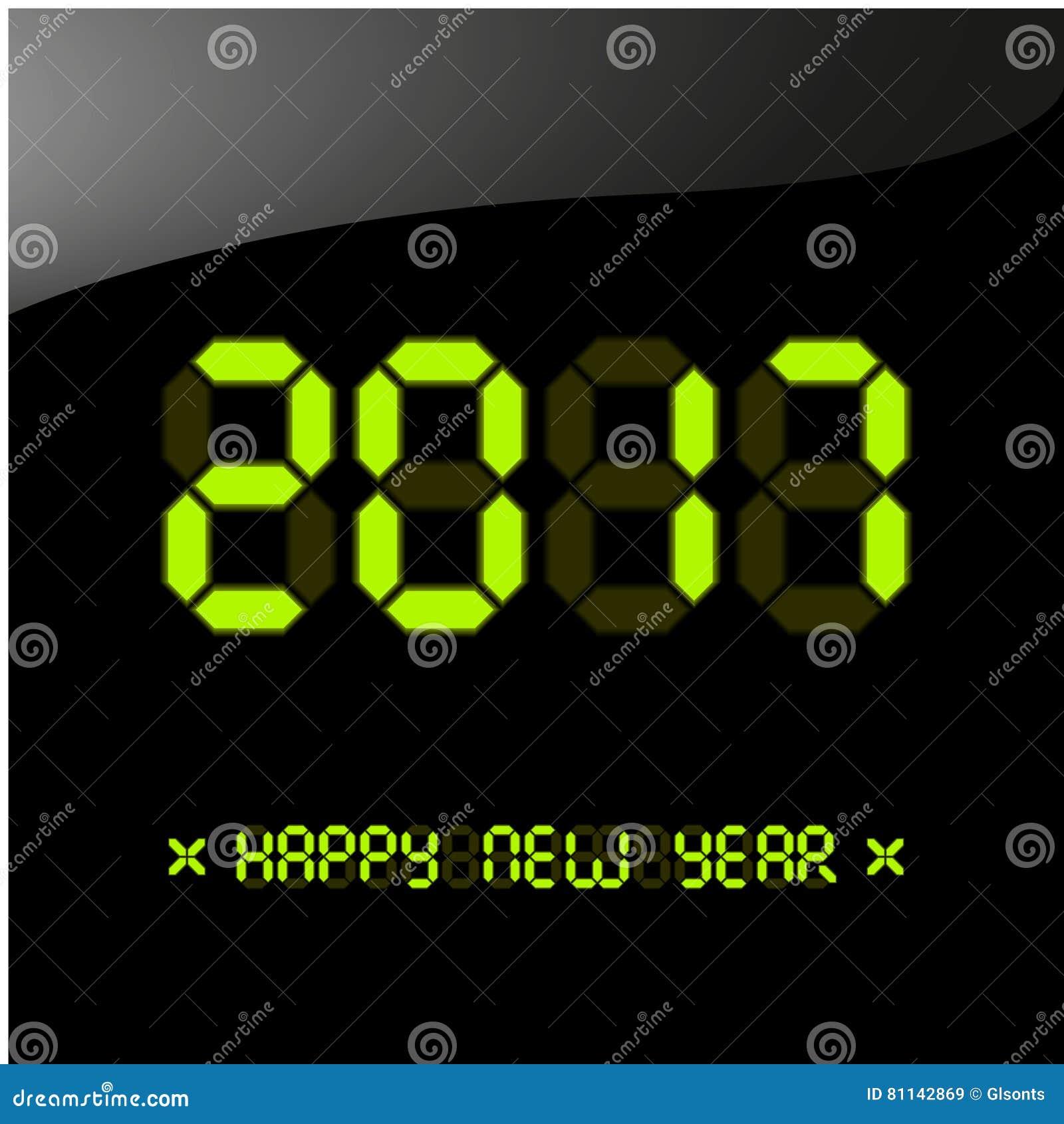 Happy New Year 2017 Greeting Card Illustration 81142869 Megapixl