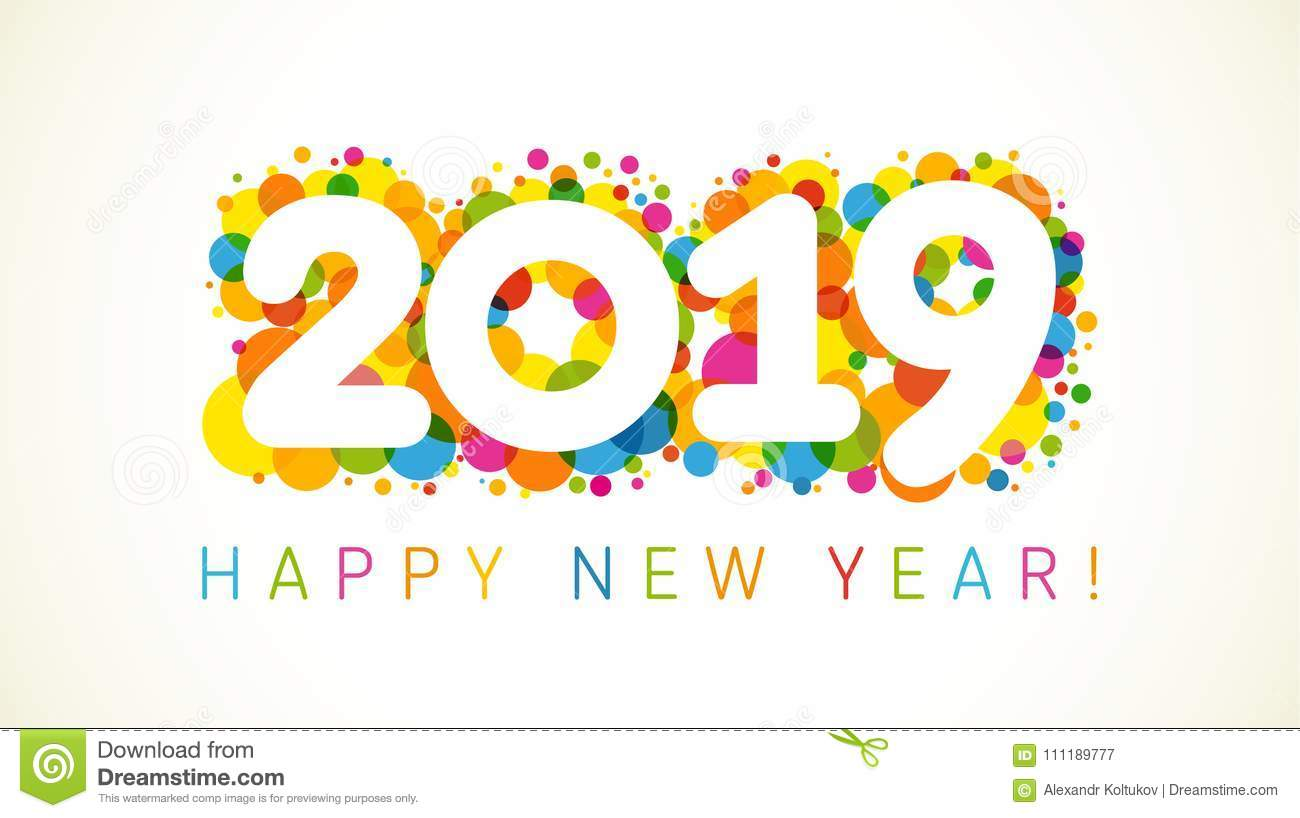 2019 a happy new year greetings