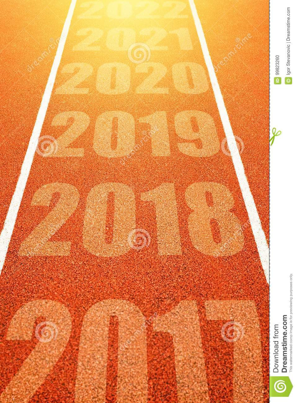 f30606ce2f283 Happy New Year 2018 stock photo. Image of distance