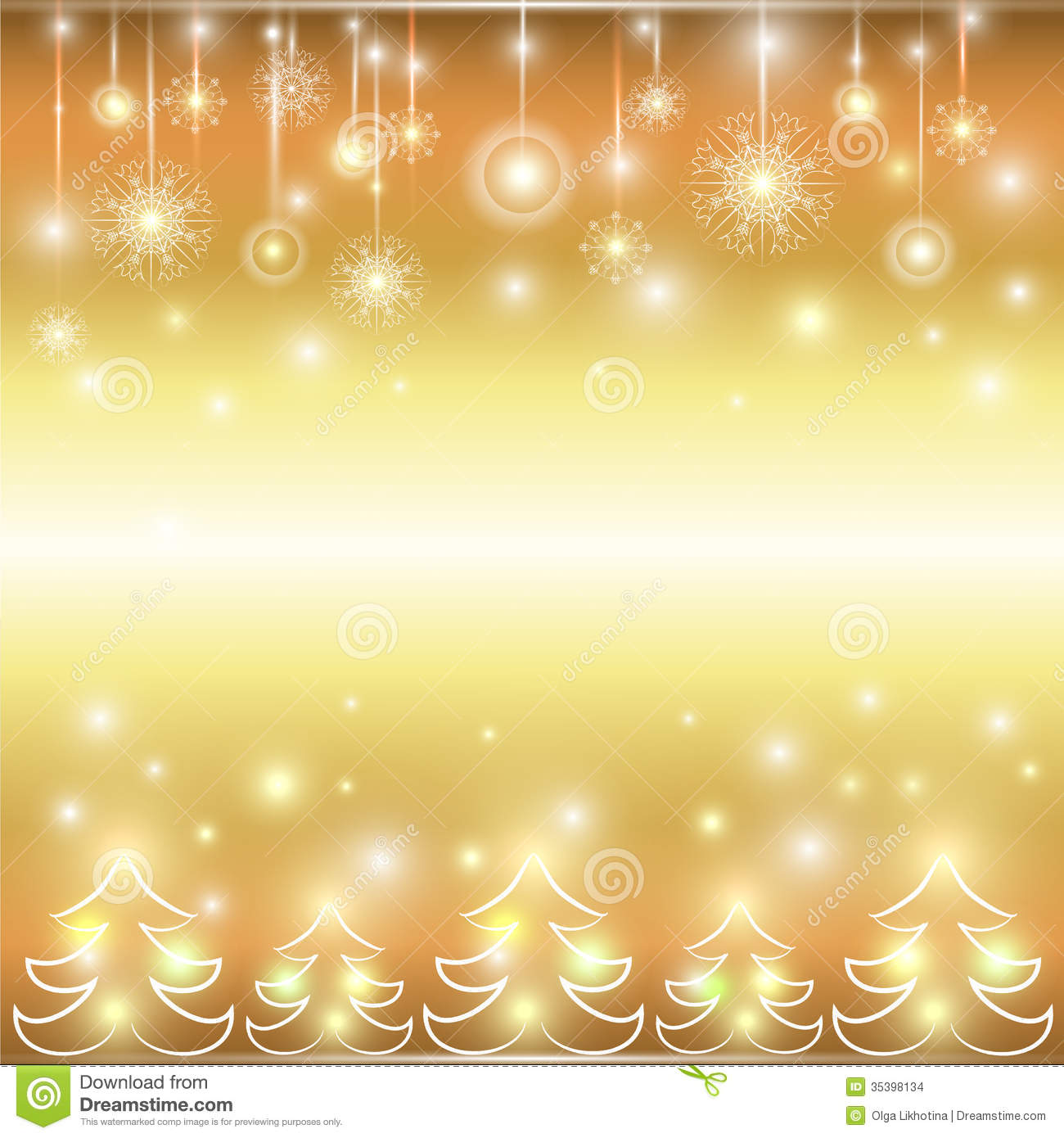 Happy New Year. Holiday Gold Background. Stock Vector - Image ...