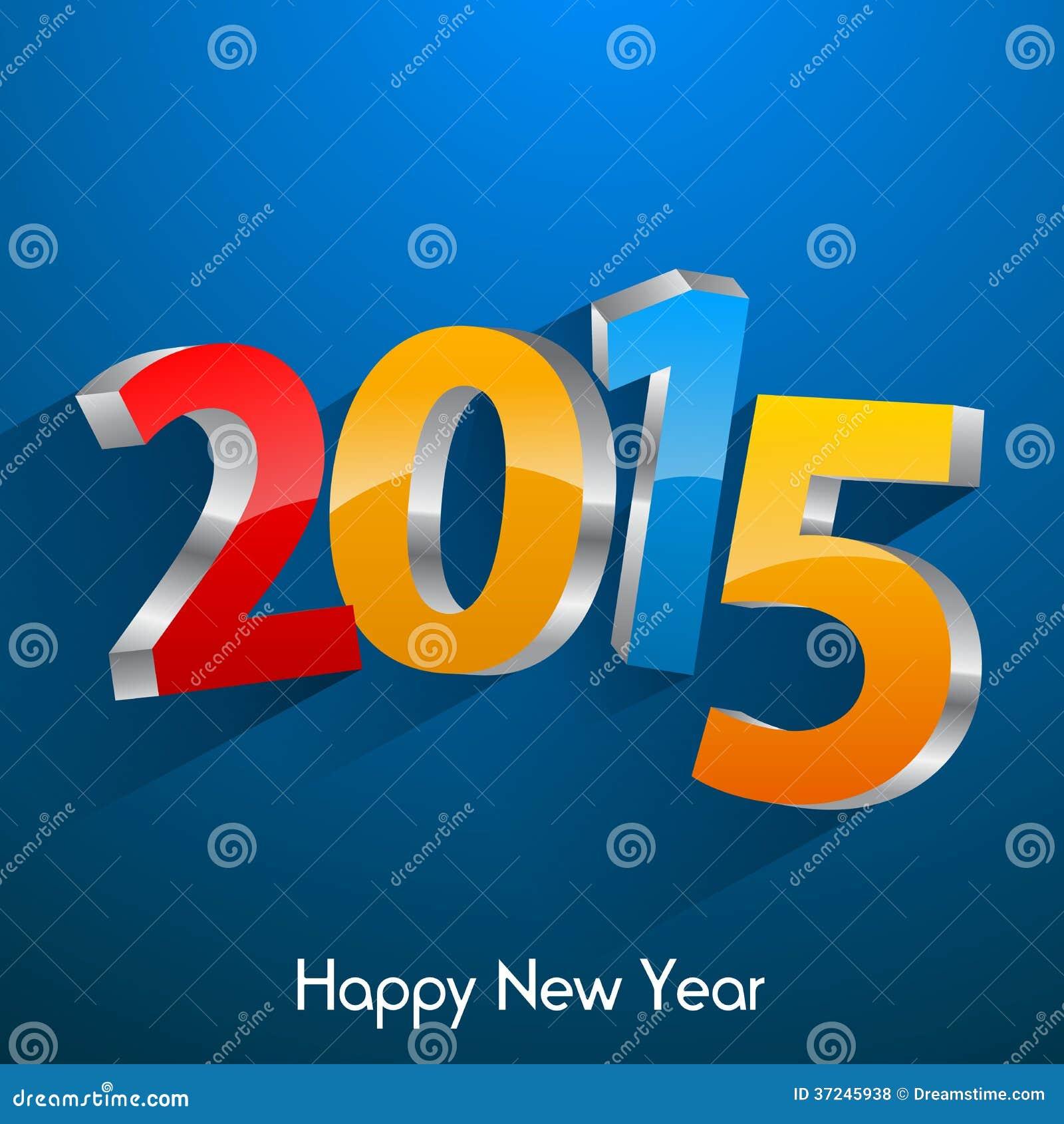 Happy New Year 2015 Royalty Free Stock Photos