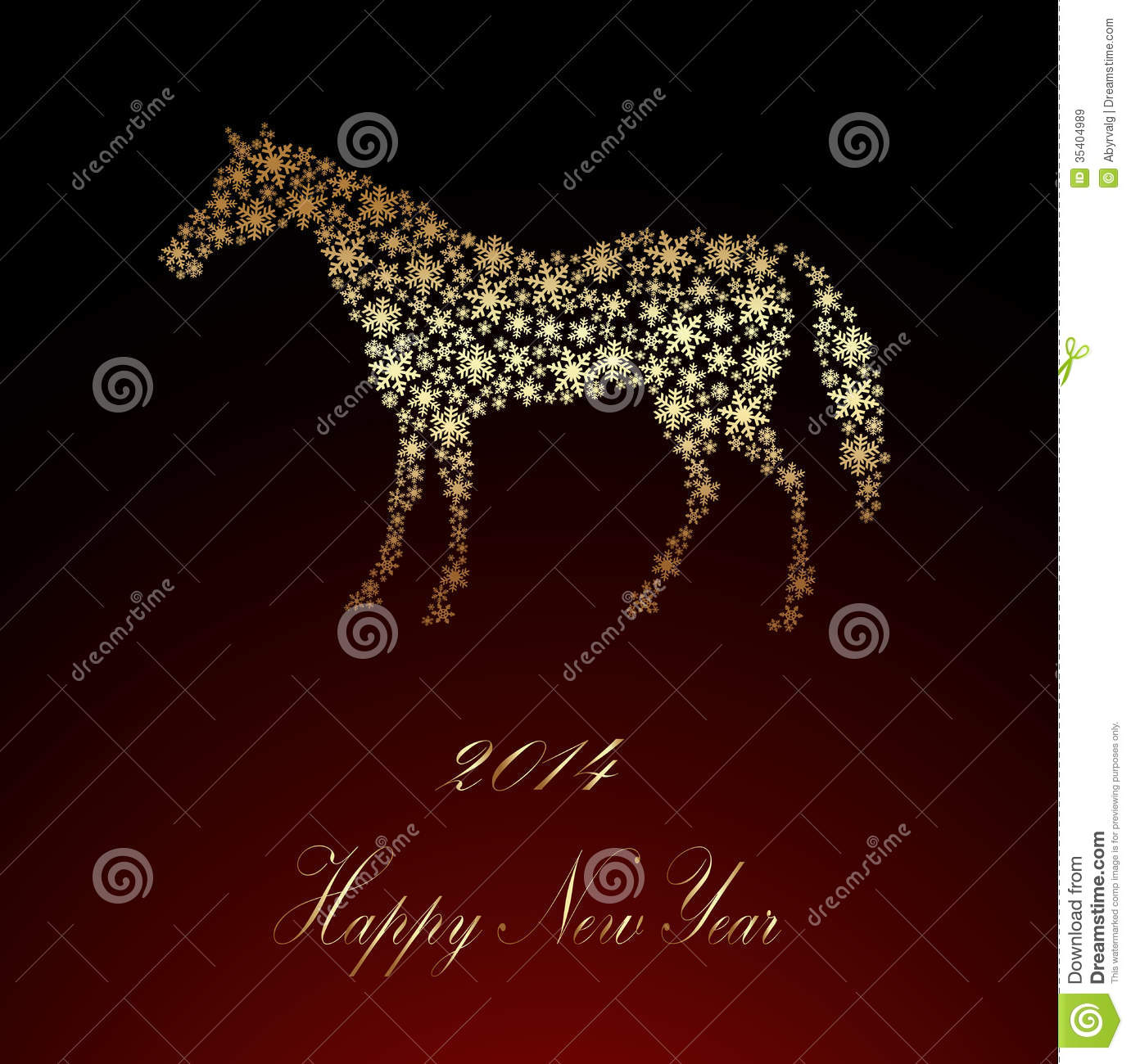Happy New Year Horse Images 10