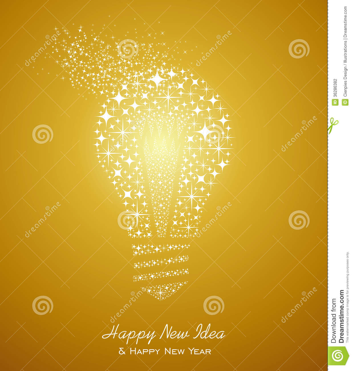 Happy new year and ideas 2014 greeting card stock vector happy new year 2014 holidays with new fresh ideas greeting card background eps10 vector file organized in layers for easy editing m4hsunfo