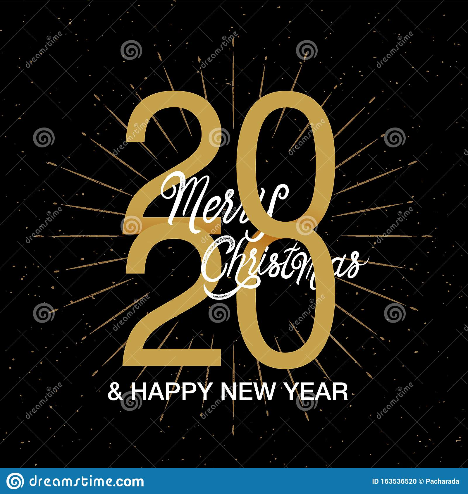 Merry Christmas 2020 Logo Happy New Year 2020 Logo Text Design. Merry Christmas ,design