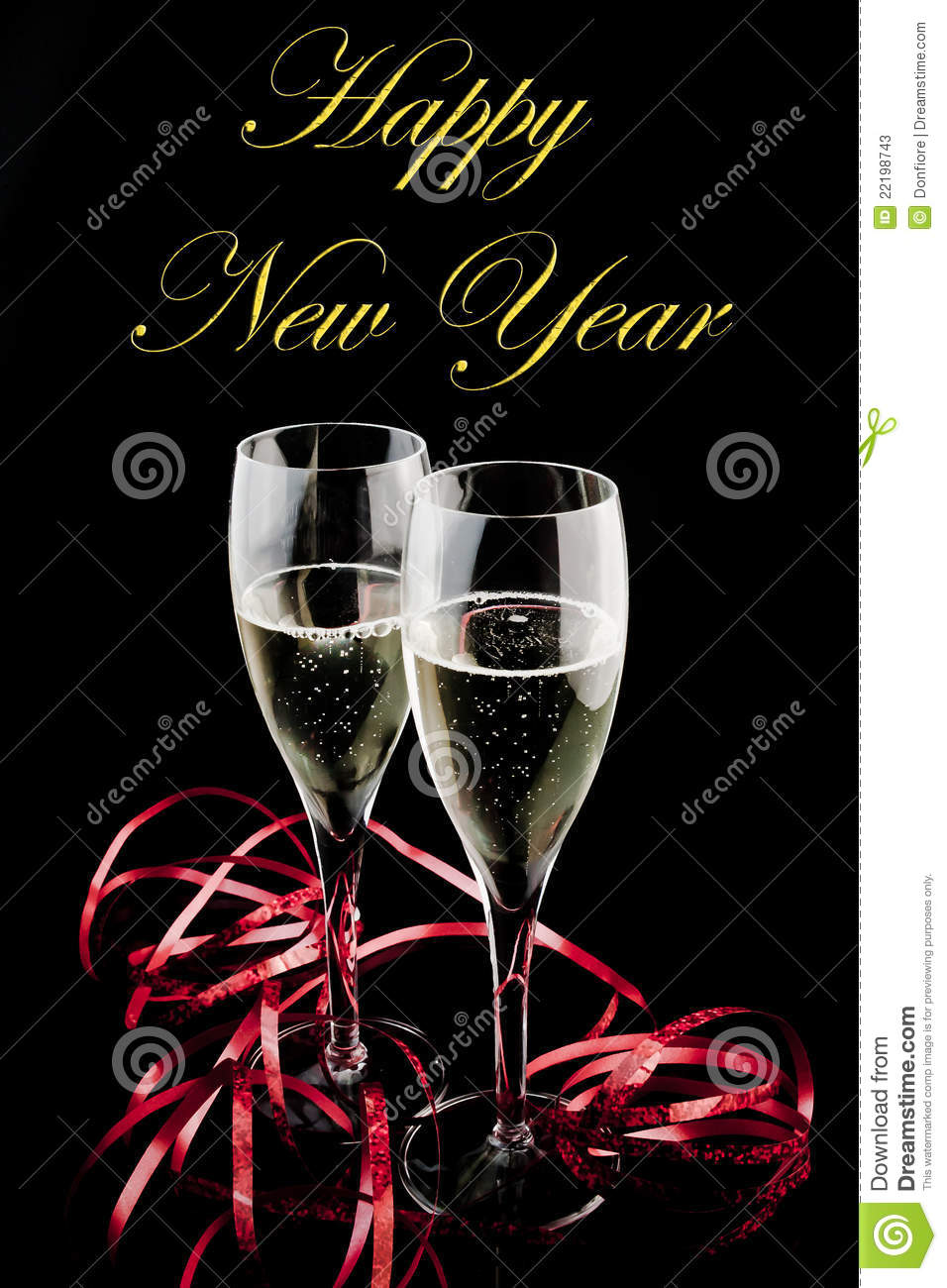 Happy new year with love stock image. Image of holiday - 22198743