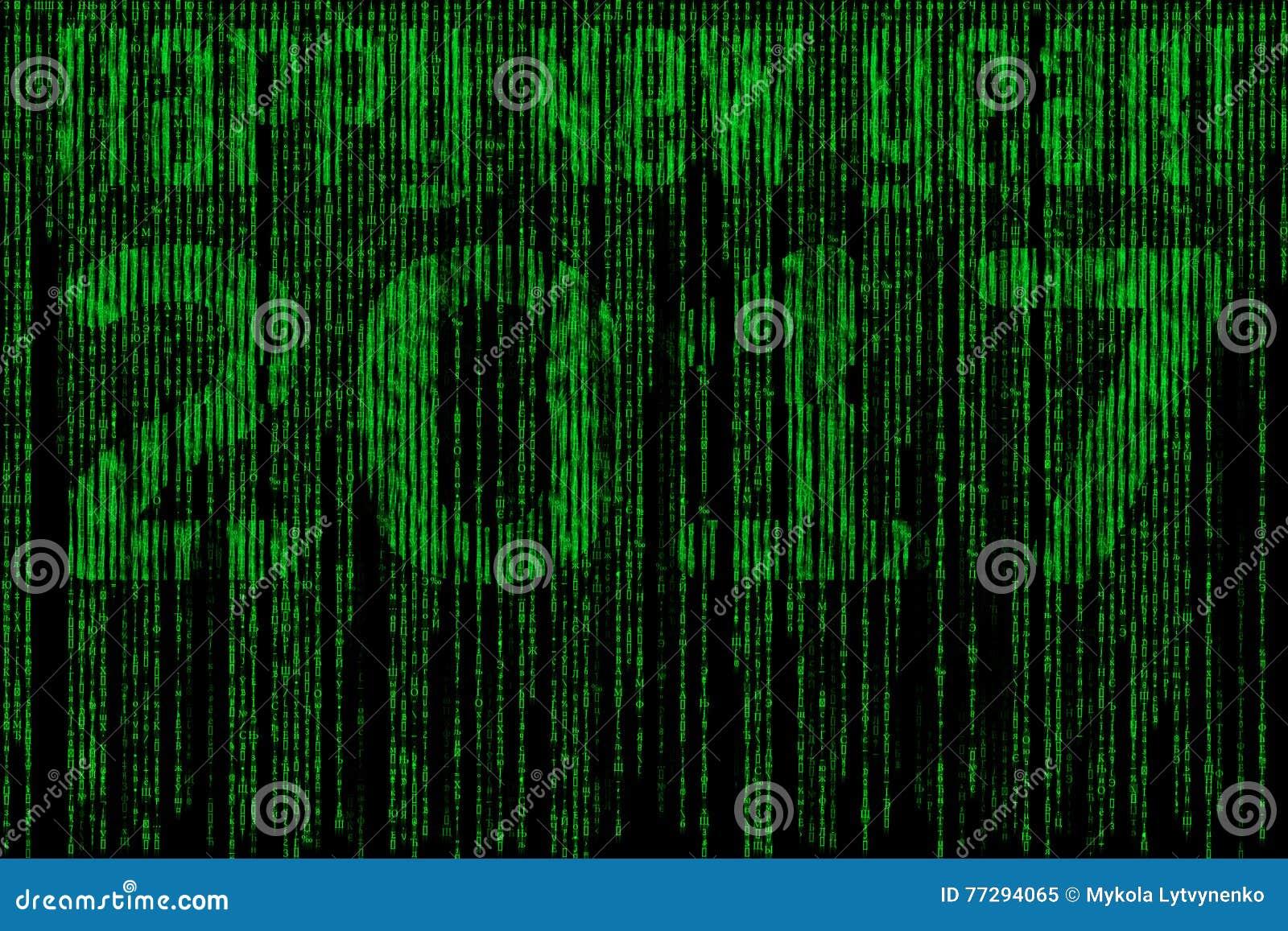 Happy new year matrix 2017 stock illustration illustration of happy new year matrix 2017 spiritdancerdesigns Choice Image