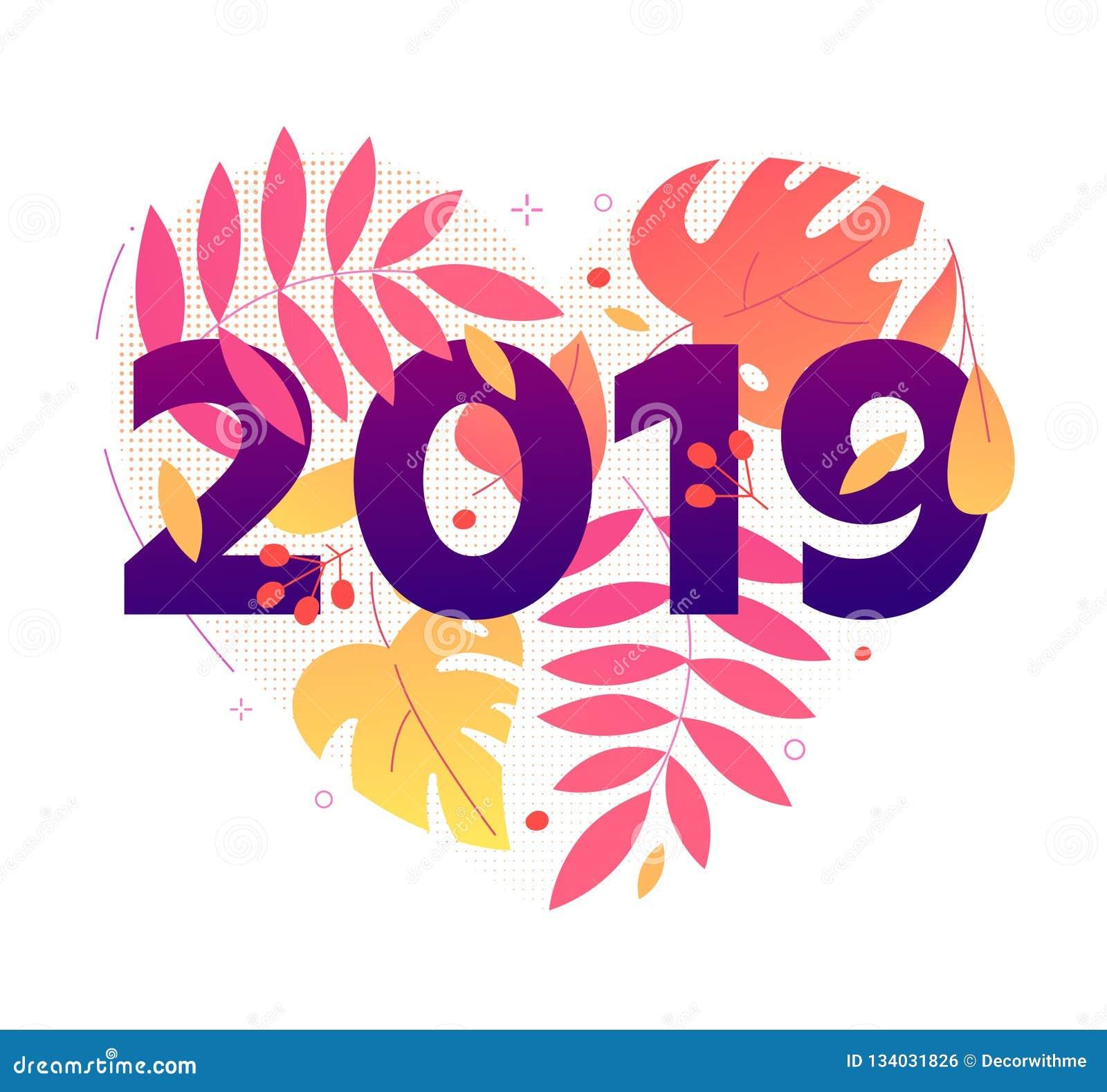Happy New Year Flat Design 49