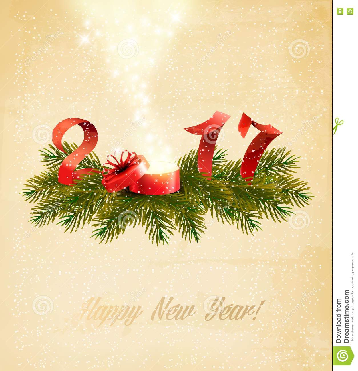 happy new year 2017 new year design template
