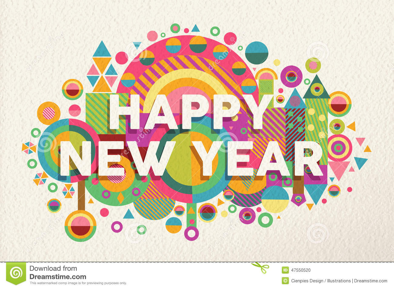 Happy New Year Design 44