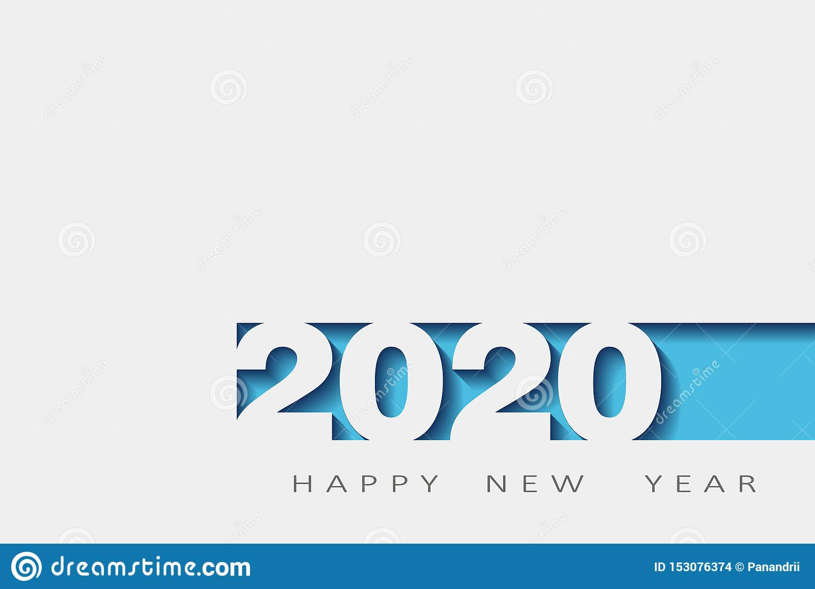 2020 happy new year, year of the rat, design 3d, illustration,Layered realistic, for banners, posters flyers