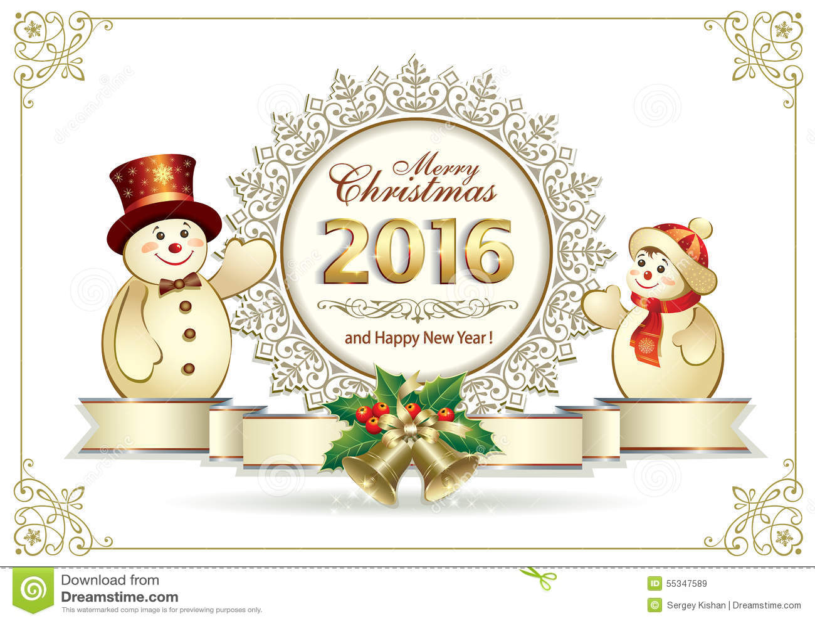 Happy New Year 2016 stock vector. Image of advertisement ...