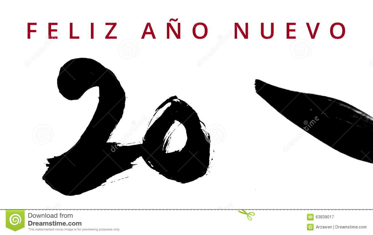 Happy new year 2016 in spanish writing calligraphy with a brush happy new year 2016 in spanish writing calligraphy with a brush chinese ink highly contrasted greeting video card stock video video of gesture m4hsunfo
