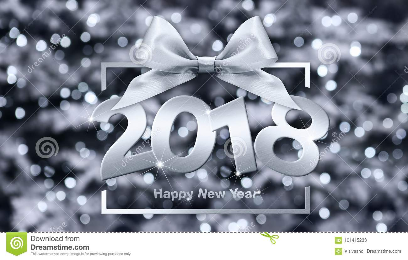 2018 happy new year text for your flyers and greetings card id
