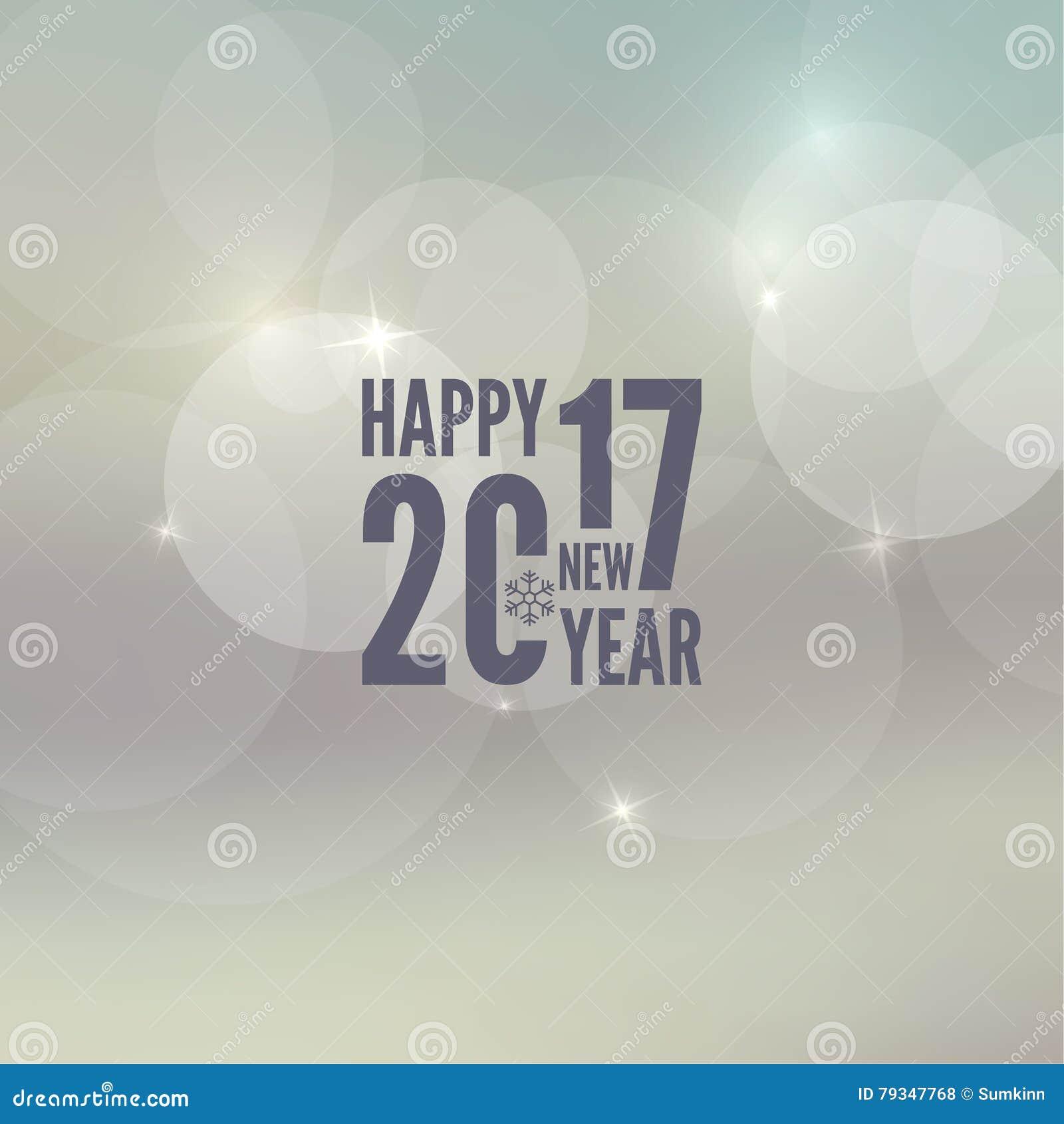 Happy New Year 2017 Theme. Stock Vector - Image: 79347768