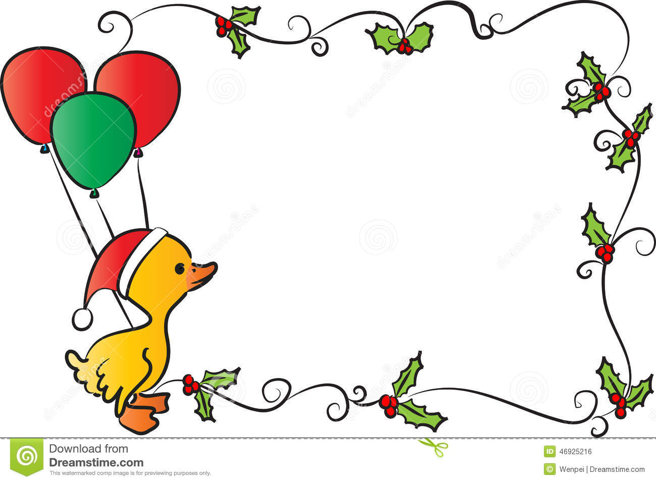 Happy New Year Stock Illustration Illustration Of Balloon 46925216